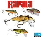 RAPALA Lure COUNTDOWN All Sizes Colours Predator Fishing Tackle Bait Perch Pike