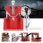 Watch Repair Tools Puller Plunger Remover Hand Presser Press Fitting Kit NEW image