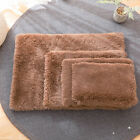 Plush Dog Cushion Blanket Washable Pet Cat Puppy Bed Mat Nest S-XL Brown Pink