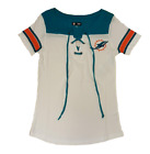 Miami Dolphins Baby Jersey Lace-Up Stripe Sleeve $36.0 USD on eBay