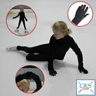 CRS Cross Figure Skating Gloves-Warm Padded Protection Practice,Competition Blac
