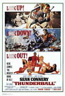 65233 Thunderball Movie Sean Connery laudine Auger Wall Print POSTER AU $67.95 AUD on eBay