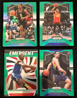 2019-20 Panini Prizm Basketball Green Prizm Parallel Cards Lot You PickBasketball Cards - 214