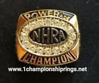 Gary Scelzi 2005 NHRA Powerade Funny Car GOLD Champion Ring