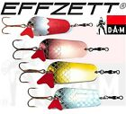 DAM Effzett Fishing Spoon Choose Size Colour Metal Lures Trout Salmon Pike Toby