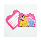 PRINCESS DECORATIONS ~Party Invitations Party Bags Tablecloth Cake Topper