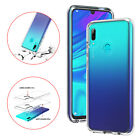 For Huawei Nova 5i Psmart Z Y9 2019 Clear Slim Silicone Bumper Back Case Cover