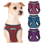 Reflective Pet Dog Harness Soft Mesh Walking Vest for Small Puppy Cat Red XXS-M