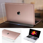 """Transparent Clear Hard Protective Case for MacBook air pro 11"""" 12"""" 13"""" 15"""" 16"""""""