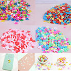 10g/pack Polymer clay fake candy sweets sprinkles diy slime phone supp   K7T image