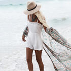 Womens Floral Bikini Cover Up Kimono Cardigan Swinwear Summer Beach Long Blouse