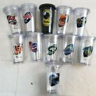 U-PICK NFL Team 16oz Plastic Tumbler Cup Mug w/ Straw Twist Lid Double Wall A47 $11.75 USD on eBay