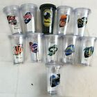 U-PICK NFL Team 16oz Plastic Tumbler Cup Mug w/ Straw Twist Lid Double Wall A47 $11.16 USD on eBay