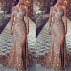Women Formal Gown Wedding Bridesmaid Evening Party Cocktail Maxi Long Prom Dress
