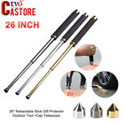 """21"""" 26"""" Retractable Telescopic Security Stick Self-Protector Outdoor Hiking Tool"""