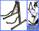 Folding Guitar Stand Cradle Holder Soft Pad Stable Universal Electric Acoustic + for sale