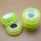 12Rolls 12mm*30m Clear Transparent Tape Sealing Packing Office School Stati S8W9