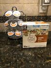 KEURIG COFFEE POD STORAGE CAROUSEL ROTATABLE ORGANIZER HOLD 27 PODS