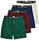 Polo Ralph Lauren 4 Pack KNIT BOXERS Classic Fit Reinvented Wicking Underwear
