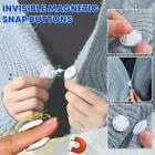 Invisible Magnetic Snap Fasteners Button Set Handbag Purses Sewing Accessories