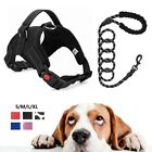 Dog Strap Harness for Large Dogs Adjustable Heavy Duty No Pull Reflective 2PCS