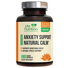 Anxiety Relief Pills 1000mg Highest Potency Stress Relief and Mood Boost Support