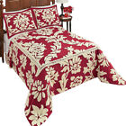 Nadia Scroll Leaf Chenille Bedspread image