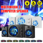 Colorful Breathing Lights Mini Speakers Super Stereo Bass For Laptop Smartphone