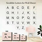 Vinyl Letter Scrabble Wall Art Decals Stickers Nursery Childs Living Room Decor