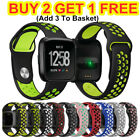 For Fitbit Versa 2 1 Lite Sport Silicone Watch Strap Band Wristband Replacement image