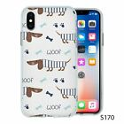 For iPhone X XS Silicone Case Cover Dogs Collection 6