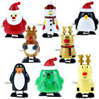 Creative Funny Jumping Clockwork Christmas Toy Children Wind Up Toys Gifts MF