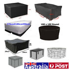 10 Size Waterproof Outdoor Patio Garden Furniture Rain Snow Uv Cover Table Chair