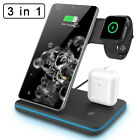 15W QI Wireless Charger Fast Charging Dock Stand For Samsung Galaxy S20 Ultra 5G