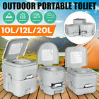 20L Portable Toilet Elderly Home Travel Camping Commode Potty Indoor Outdoor