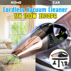 Car Vacuum Cleaner Cordless Handheld Rechargeable Wet Dry Dust Clean Home