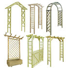 Garden Arbour Rose Arch FSC Impregnated Wood Trellis Rose Archway Climbing Plant