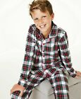 24 Family Pajamas Matching Kids Stewart Plaid Pajama Set
