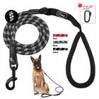 Mountain Climbing Dog Lead Reflective Braided Nylon Rope Lead for Labrador 150cm