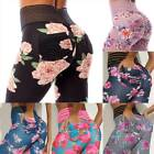 Women High Waist Yoga Pants Floral Print Leggings Sport Workout Fitness Trousers