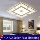 Modern Acrylic Led Square Ceiling Lamp Mounted Light Fixture Home Room Decor