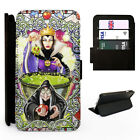 Snow White Evil Queen Apple - Flip Phone Case Cover - Fits Iphone / Samsung