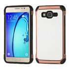 For Samsunge On5 Lychee Grain Astronoot Impact Armor Protector Case Cover