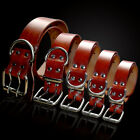 Dog Collars Leather Dog Training Collar Adjustable for Chihuahua Beagle Labrador