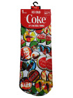 ladys Vintage Coca Cola Bottle tops Pair Socks New Coke its the Real Thing 4/8 £2.99  on eBay
