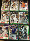 2019 Topps Holiday Winter Christmas veteran base cards (You Pick Your Cards) MLB $0.99 USD on eBay