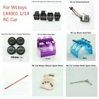 Wltoys 144001 1/14 Rc Car Parts Gear Box Cover/motor Heat Sink/receiver Board