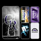 wallet case Colorado Rockies iphone 7 iphone 6 6+ 5 7 X XR XS MAX case on Ebay