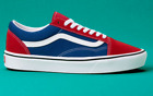 Vans Old Skool shoes ComfyCush Two-Tone Chili Pepper & True Blue NEW IN BOX