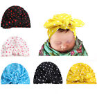 Newborn Baby Girls Infant Hat Soft Knitted Bow Cap Beanie Bonnet Hat Mp